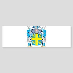 Oswalt Coat of Arms - Family Crest Bumper Sticker
