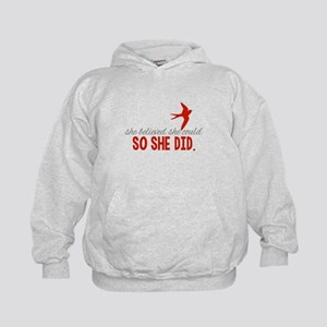She Believed She Could Hoodie