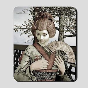 Vintage Geisha Mousepad
