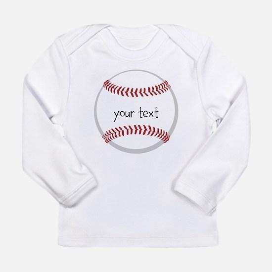 Baseball Long Sleeve Infant T-Shirt
