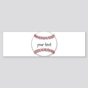 Baseball Sticker (Bumper)