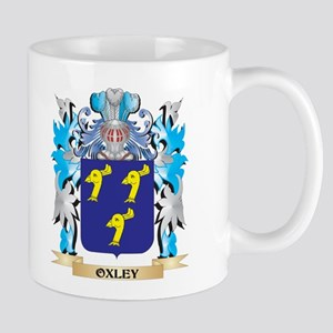Oxley Coat of Arms - Family Crest Mugs