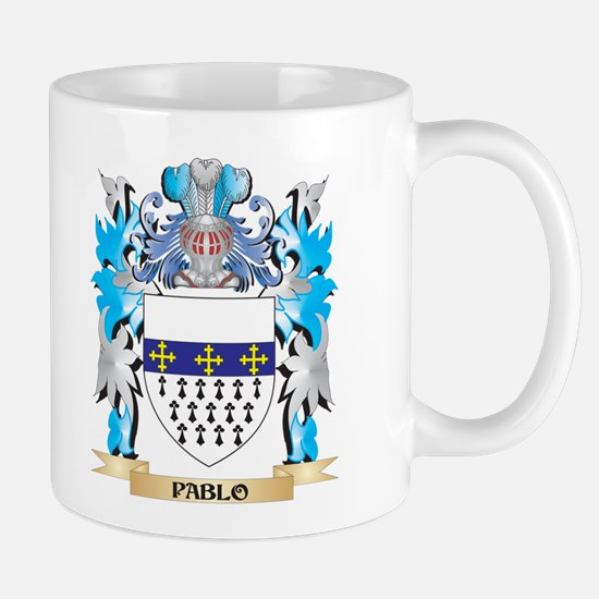 Pablo Coat of Arms - Family Crest Mugs