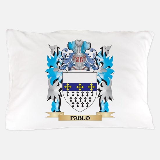 Pablo Coat of Arms - Family Crest Pillow Case