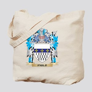 Pablo Coat of Arms - Family Crest Tote Bag