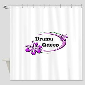 drama queen Shower Curtain