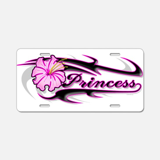 paradice princess Aluminum License Plate