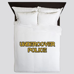 UNDERCOVER POLICE Queen Duvet