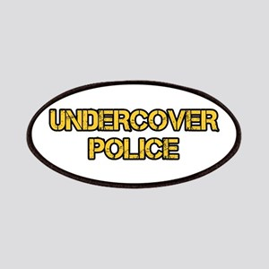 UNDERCOVER POLICE Patches