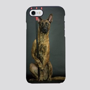 Dog with fork iPhone 7 Tough Case