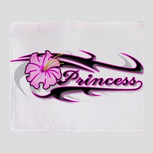paradice princess Throw Blanket