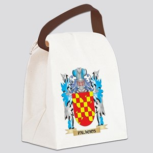 Palacios Coat of Arms - Family Cr Canvas Lunch Bag