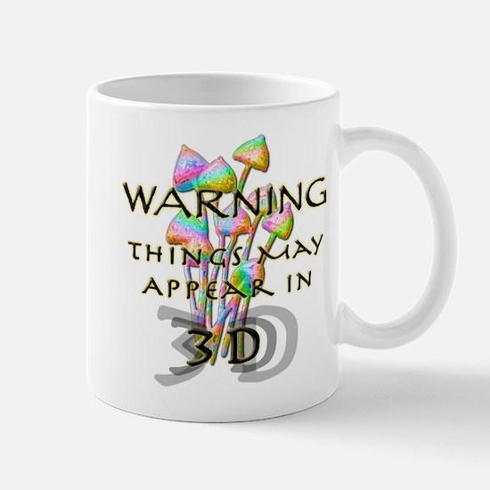 Mushroom Warning Mug