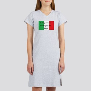 In Sicily Women's Nightshirt