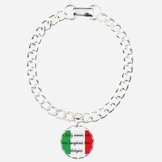 In Sicily Charm Bracelet, One Charm