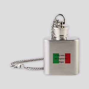 In Sicily Flask Necklace