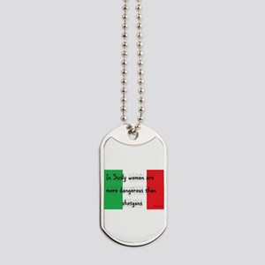 In Sicily Dog Tags