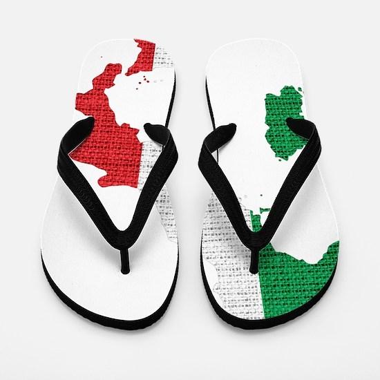 Cute Italia Flip Flops