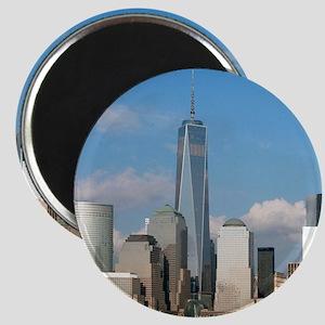 Stunning new New York City skyline Magnets