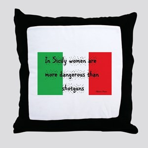 In Sicily Throw Pillow