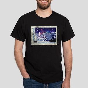 Sputnik Soviet Union Russian Space Rocket T-Shirt