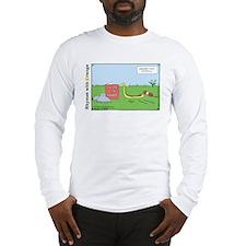knittingsnakepc copy copy Long Sleeve T-Shirt