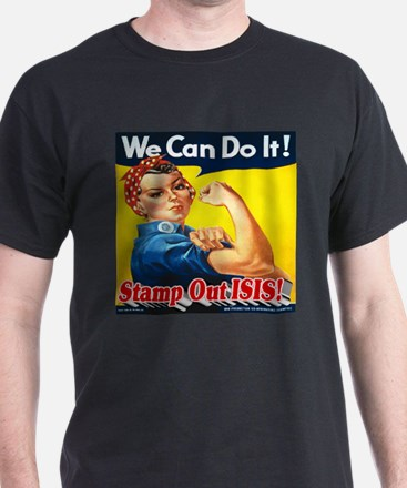 We Can Do It! Stamp Out ISIS! T-Shirt