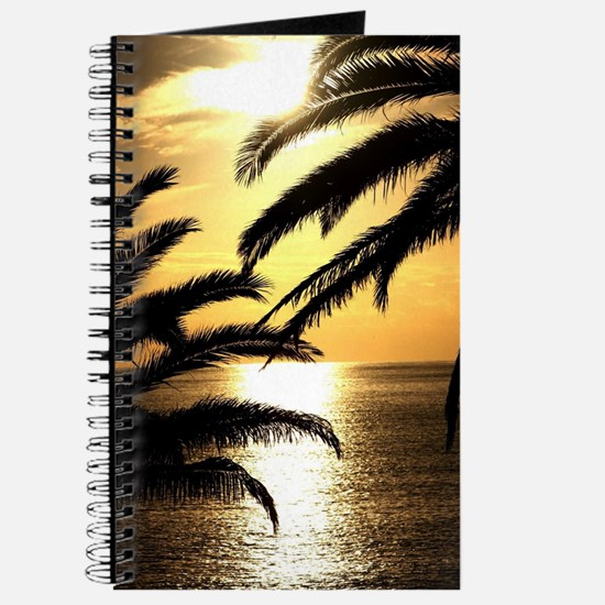 Funny Red sunrise Journal
