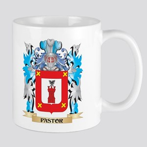 Pastor Coat of Arms - Family Crest Mugs