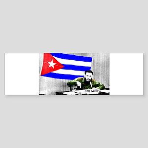 President Fidel Alejandro Castro Ru Bumper Sticker