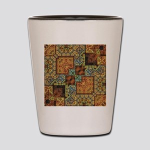 Patchwork Pattern Shot Glass