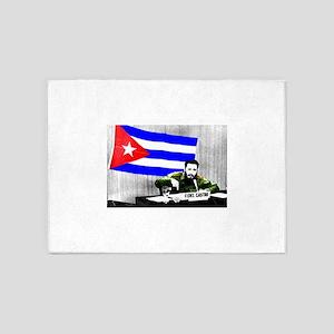 President Fidel Alejandro Castro Ru 5'x7'Area Rug