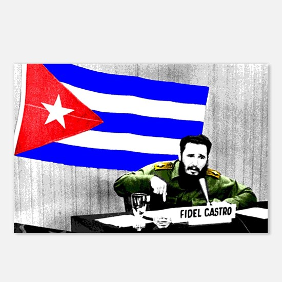 President Fidel Alejandro Postcards (Package of 8)
