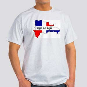 Que Lo Que Ash Grey T-Shirt