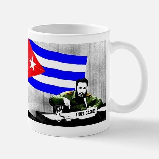 President Fidel Alejandro Castro Ruz Cuba Com Mugs