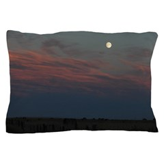 Prairie Moon With Clouds Pillow Case