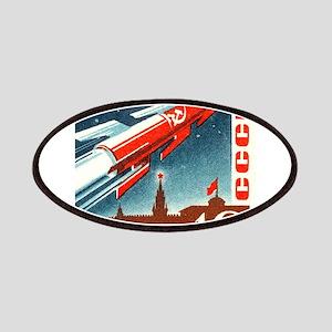 Sputnik Soviet Union Russian Space Rocket Patches