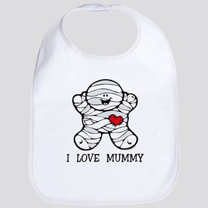 I Love Mummy Bib