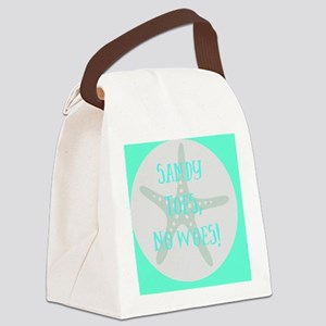 Sandy Toes, No Canvas Lunch Bag