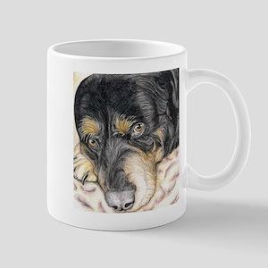 rotti print Mugs