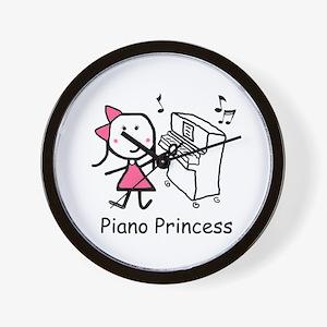 Piano - Princess Wall Clock