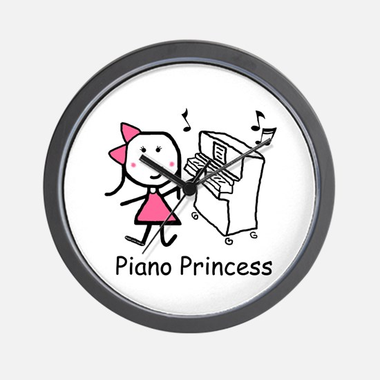 Piano - Princess Wall Clock