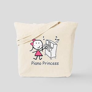 Piano - Princess Tote Bag
