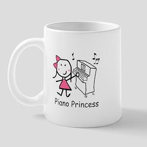 Piano - Princess Mug