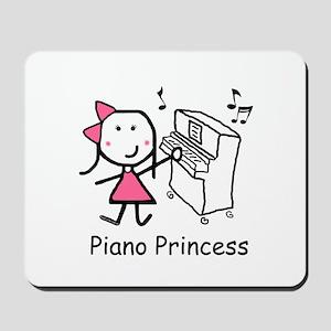 Piano - Princess Mousepad