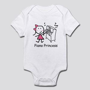 Piano - Princess Infant Bodysuit