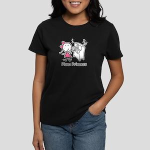 Piano - Princess Women's Dark T-Shirt