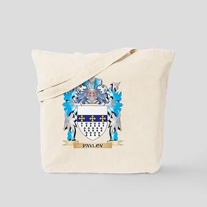 Pavlov Coat of Arms - Family Crest Tote Bag