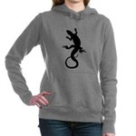 Lizard Art Women's Hooded Sweatshirt