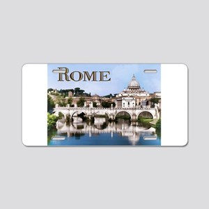Vatican City Seen from Tibe Aluminum License Plate
